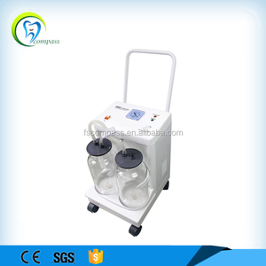 Portable home use dental suction unit.mobile oral suction machine