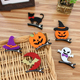Cute design, pumpkin, hat pattern kids jewelry halloween party set headband