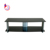 Black High-tempered Silk screen glass tv stand tv wall unit design RA022
