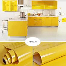 0,4x5 м кухонный шкаф, водонепроницаемые наклейки, мебель, шкаф, стол, дверь, самоклеющиеся обои, одноцветная краска, наклейка на стену(Китай)