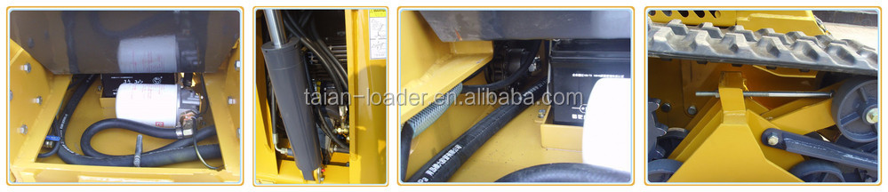 High quality and lower price industrial Grapple for mini skid steer loader Hot selling!!!