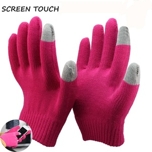 NMSAFETY ladies winter phones touch gloves cotton gloves for touch screen