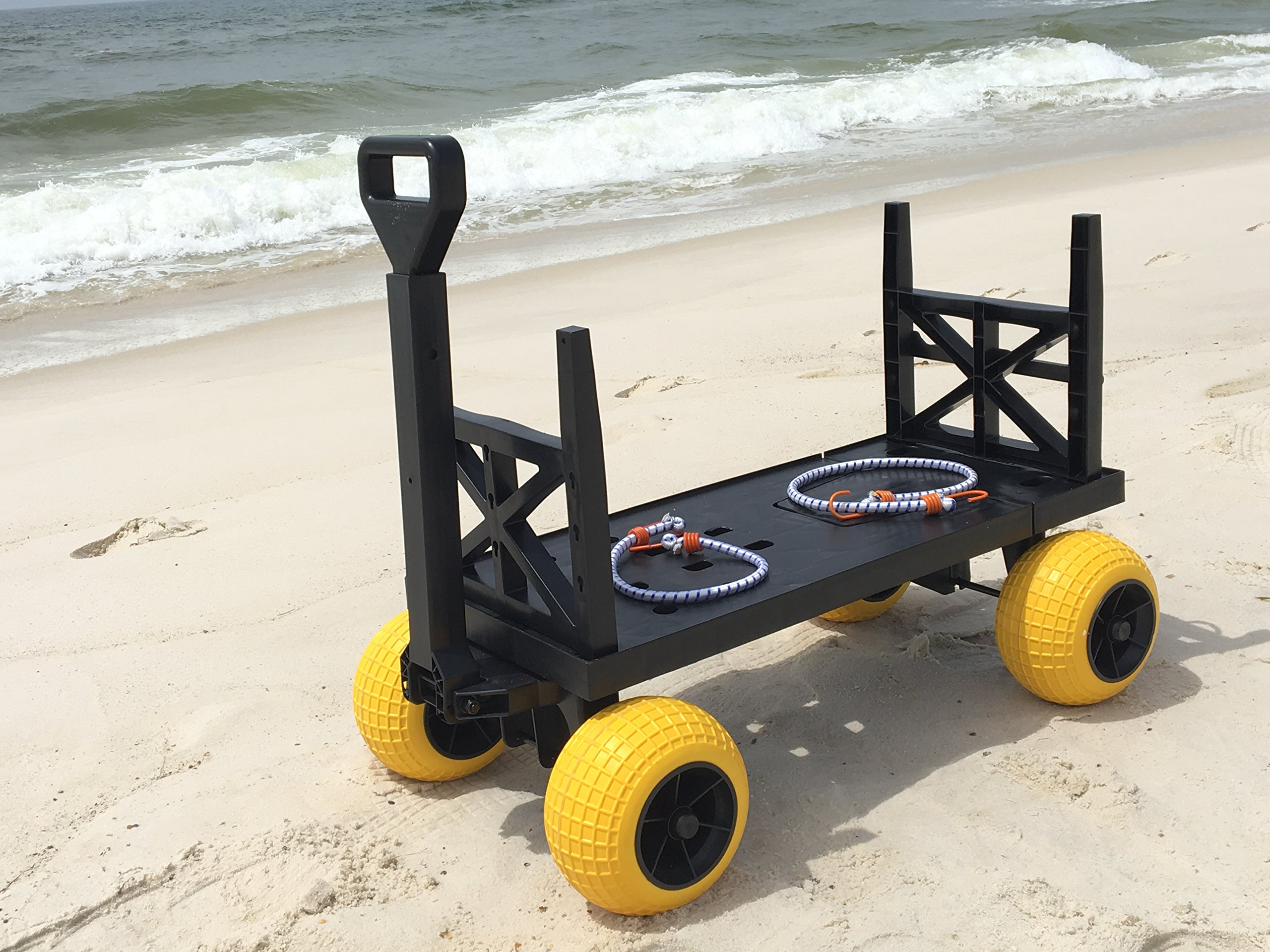 Beach Wagon Cart For Sand With Wheels