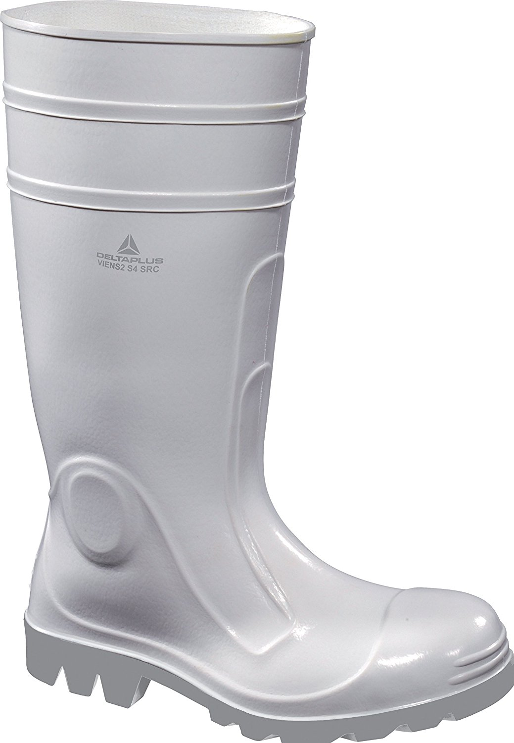 Panoply Mens Delta Plus Viens2 White Pvc Safety Galoshes Wellington Boots Welly Wellies Rubber Boots UK 6.5/EURO 40
