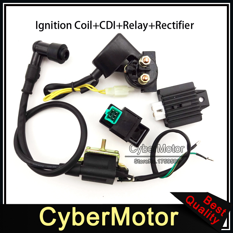 ignition coil ac cdi box regulator rectifier relay for. Black Bedroom Furniture Sets. Home Design Ideas