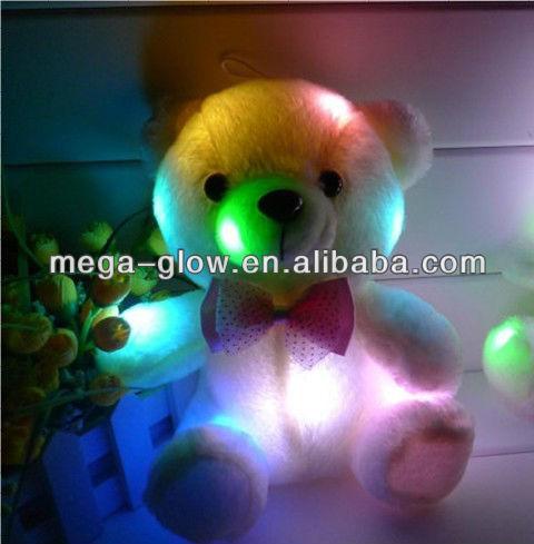 Unique Led Light Up Stuffed Bear