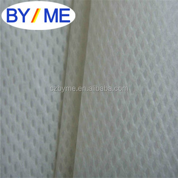 Filter material with non-woven fabric