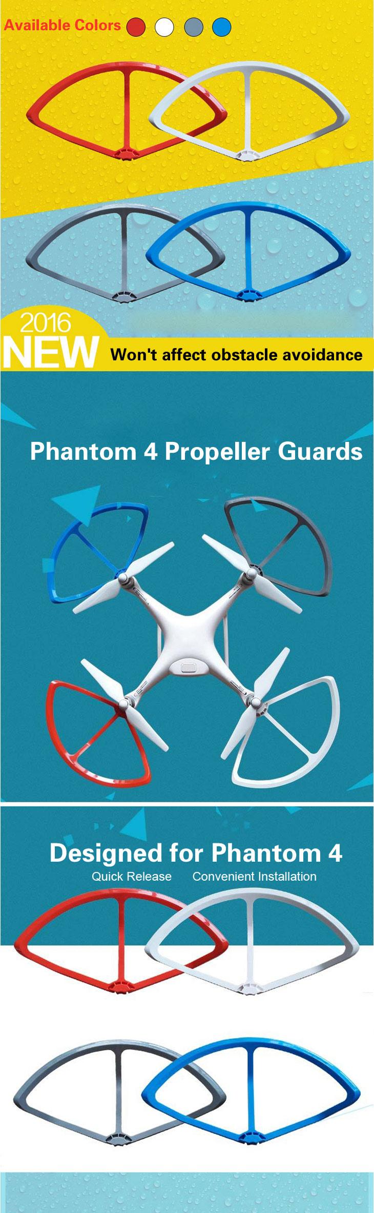 Quick Release Propeller /& Prop Schutzfolie Ringe für DJI Phantom 4 DIY