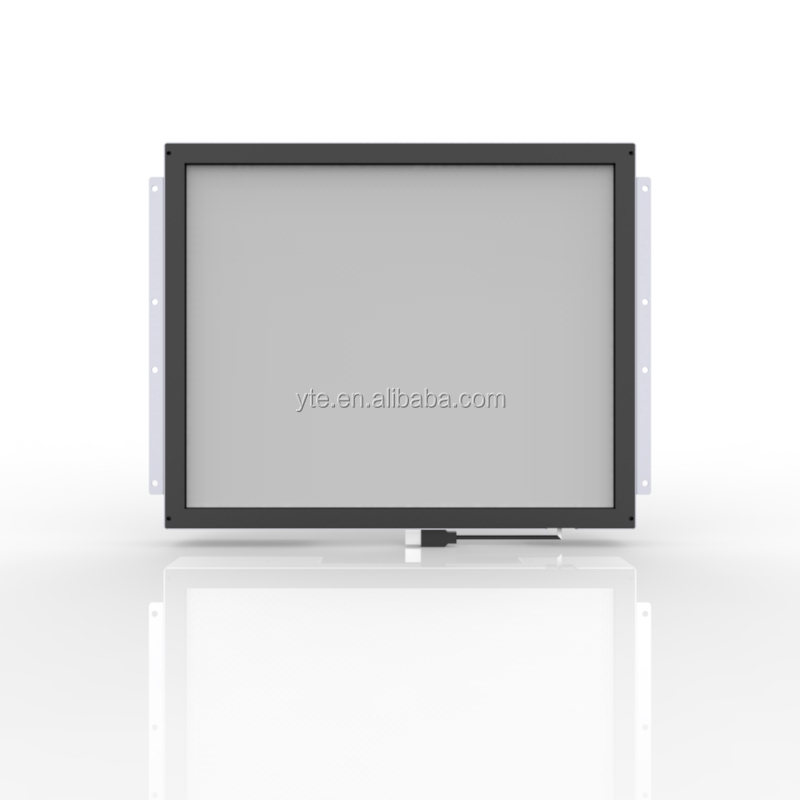 19 inch open frame lcd monitor infrared touch screen for advertising display