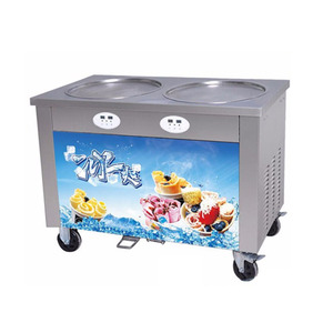 Professional Manufacturer Supplier Single Pan Fried Ice Cream Rolls Machine