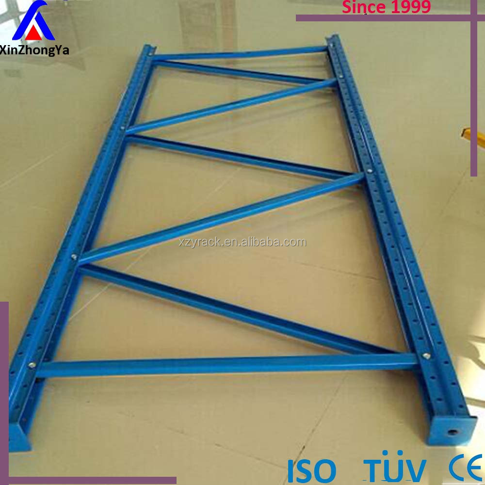 Heavy duty pallet racking post and upright
