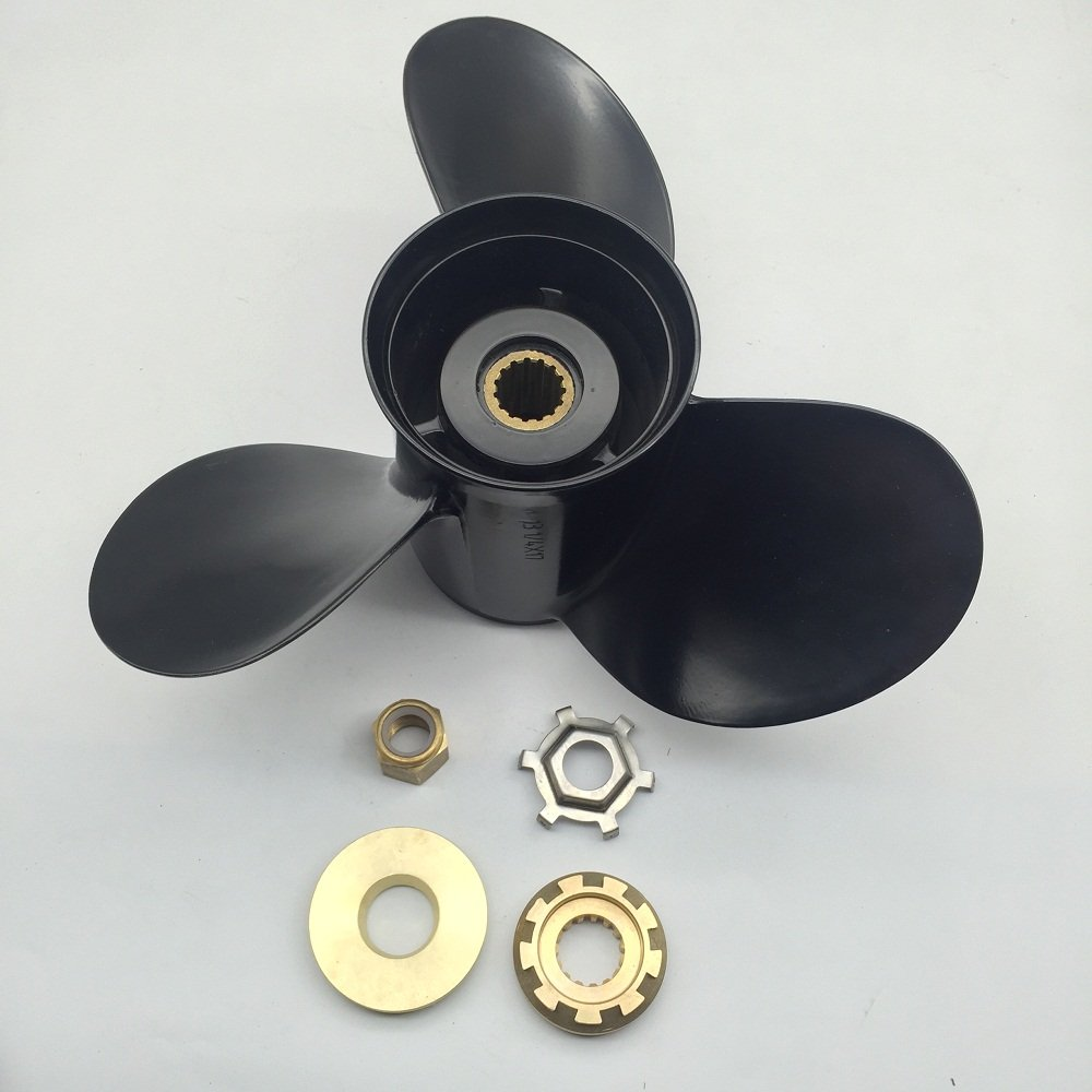Get Quotations · Boat Prop For Mercury Mercruiser Outboard Propellers 13-1/4x17 Marine 40-140HP
