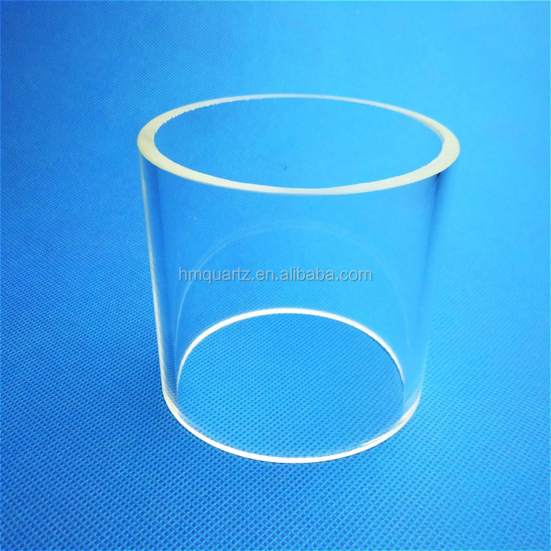 HM Heat Resistant Quartz Glass Tube For Fireplace