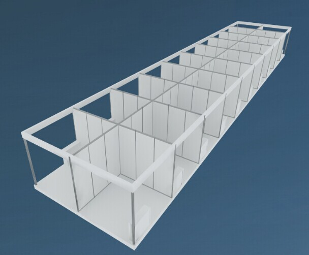 Standard Exhibition Stall Size : Modular standard exhibition stall booth buy