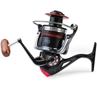New Fishing LK6000 High Speed 5.2/1 Spinning Reel Full Metal head Brass Carp Salt Water Wheel Trolling Coils Line