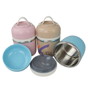 New Products Stainless Steel Meat Easy Storage 3 Layer Thermal Lunch Box for Kid