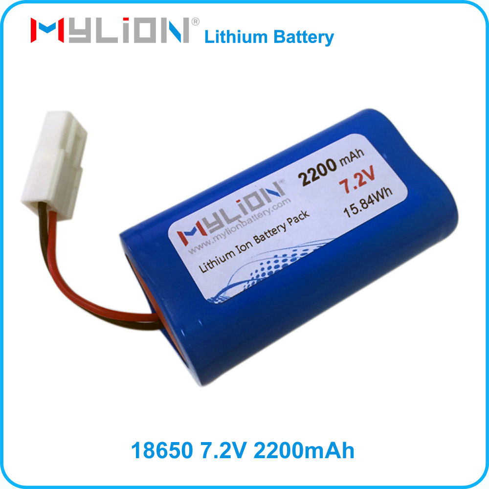 Small Rechargeable li-ion battery 7.4v 2200mah For Toy or RC Model From China Factory