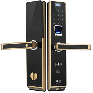 smart electronic fingerprint door lock digital