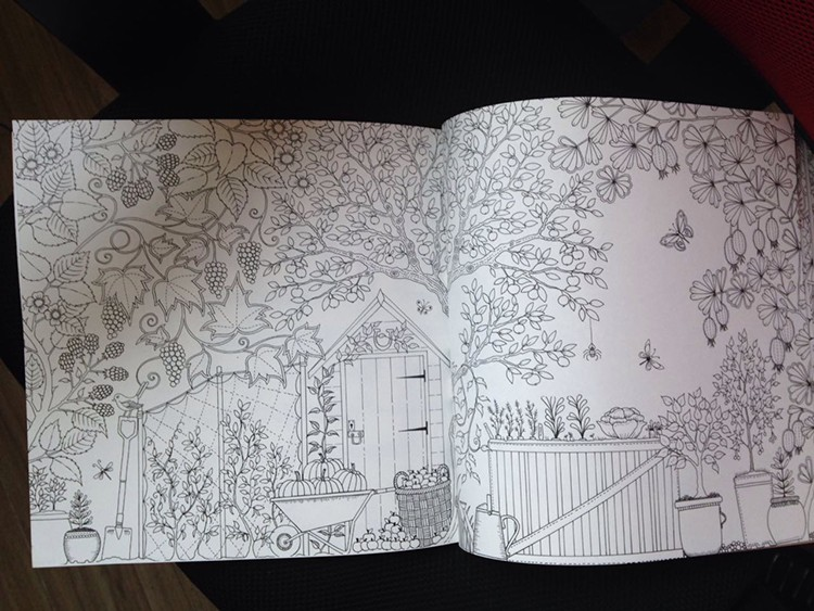 Custom Coloring Book with Color Pencil Set