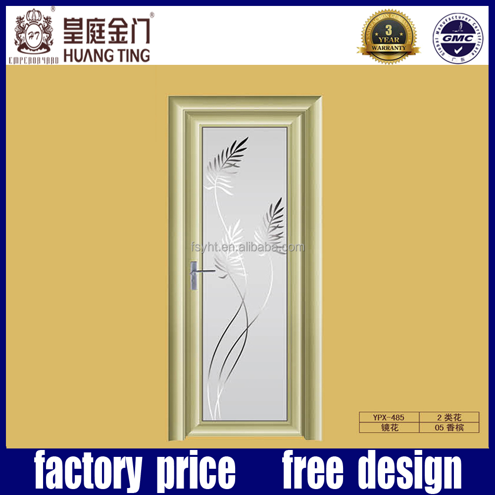 China Suppliers Products Aluminum Wood Frame Double Tempered Glass ...