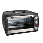 26L Mechanical timer control toaster chicken rotisserie electric oven with single hot plate