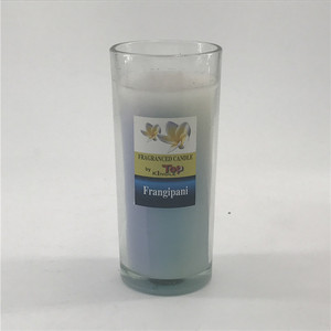 High quality Polygon cement soy candle- New Style cement jars used for soy wax candles