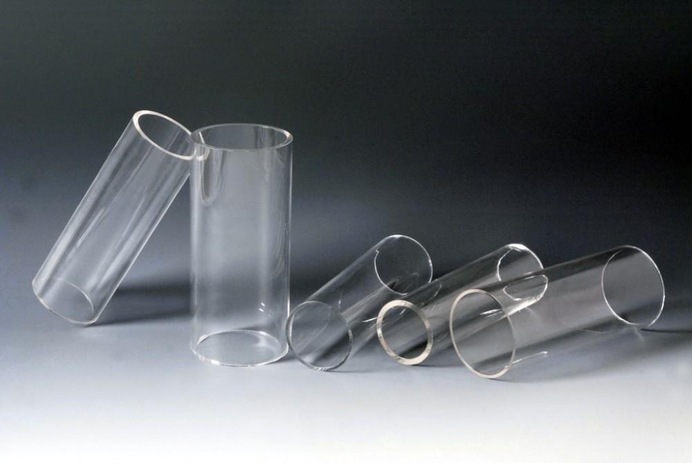 clear acrylic display tube