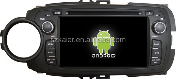 android 4.4.2 quad core car dvd,Bluetooth,mirror-link,DVR,Games,Dual Zone,SWC for Toyota Yaris