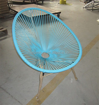 Astounding Pe Rattan Acapulco Outdoor Mexico Classic String Chair Buy Round Acapulco Shaped Outdoor Plastic Rattan Cane Porch Furniture Wholesale Deck Camellatalisay Diy Chair Ideas Camellatalisaycom
