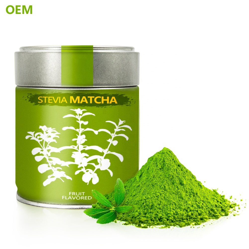 OEM High Quality Factory Organic Matcha Milk Tea Powder 1kg Wholesale Japan Japanese Ceremony / Green Tea Powder