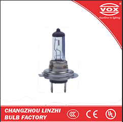 HOT SALE halogen bulb 12v 24v H7 motocycle car parts E-MARK CE auto spare parts car ChangZhou factory