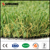 chinese green artificial grass landscaping with fireproof test