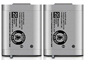 Replacement Battery for Panasonic HHR-P103 / P-P103 / HHR-P103A / N4HHGMB00001 / N4HHGMB00005 / N4HHGMN00001 / TYPE 25 / GE-TL26413 / CPH-490 (2-Pack, Bulk Packaging))