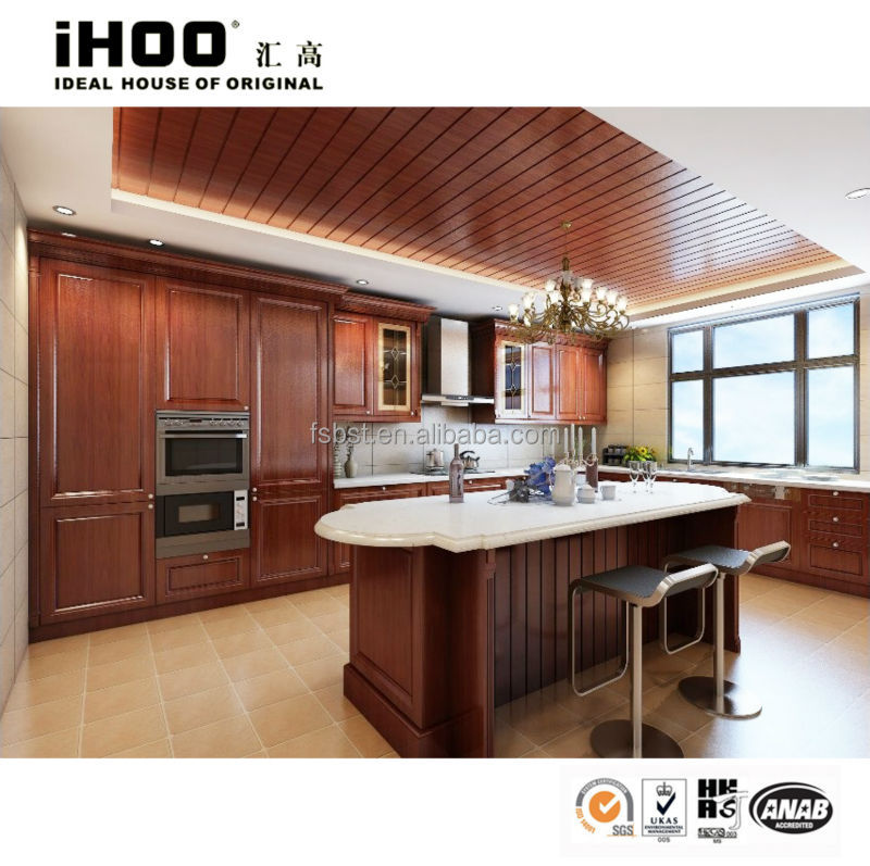 Formica Kitchen Cabinet: Top Quality!!! Cherry Wood Door High End Kitchen Cabinets