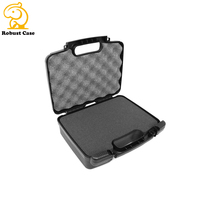 TOUGH Two-Way Radio Carry Hard Travel Case with Customizable Foam for walkie talkies