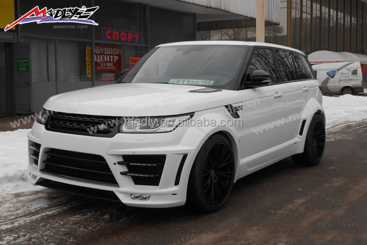 Wide Body Kit For 2014 2015 Range Rover Sport Body Kit Lm Style For