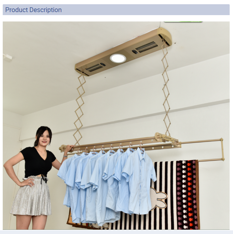 Balcony Clothes Drying Rack Indoor