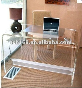 High Range Clear Acrylic Computer Desk For Office