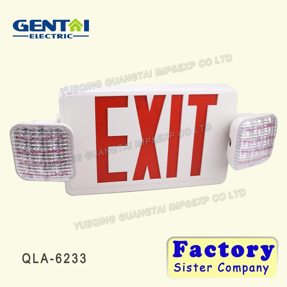 good quality led exit sign light emergency exit lights led fire safety exit signs