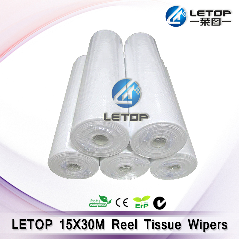 hot sales reel tissue cleaning wiper for 510 printhead cleaning