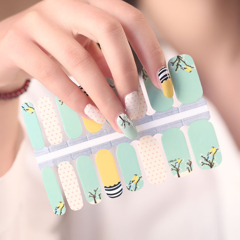 Nail Wrap Patch selbstklebende Nail Art Sticker