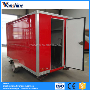 New Zealand kiosk fast food China food kiosk outdoor trailer cart franchise