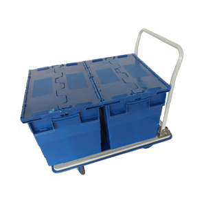 Inexpensive And Durable Transport Steel Foldable Platform Trolley