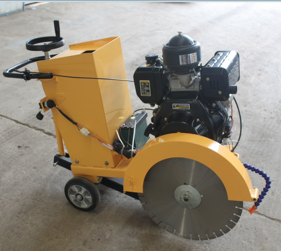 Hard Rock Concrete Cutting Machine For Sale Fqg 500c