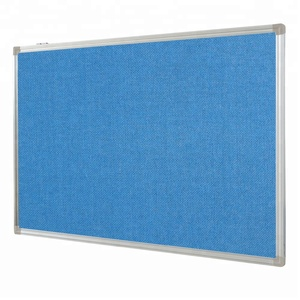 various colors decorative magnetic fabric memo board felt pin board