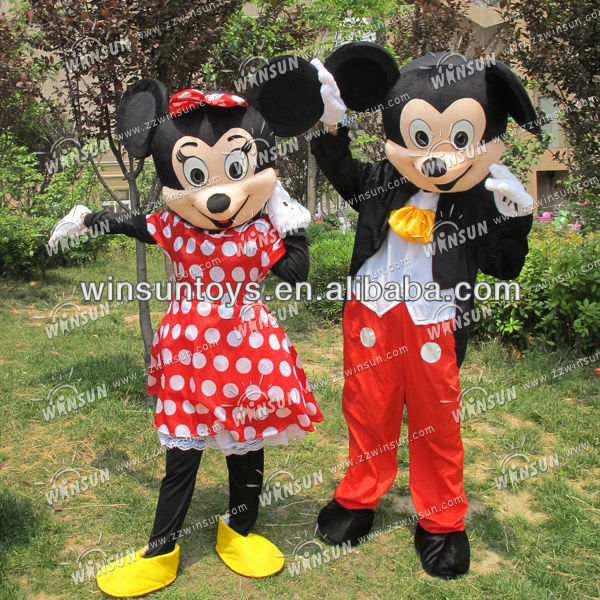2013 hot sales mickey mouse mascot costume