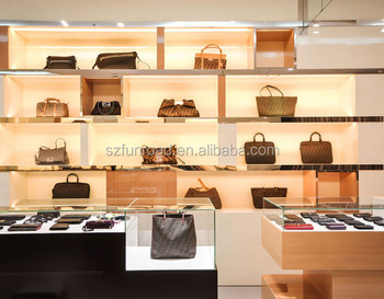 Wood And Metal Showcase For Wallet Display Buy Wood And Glass