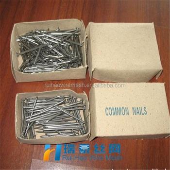 2018 Hot Sale Common Wire Nail 1 Kg Per Box 25kgs Per Carton In ...