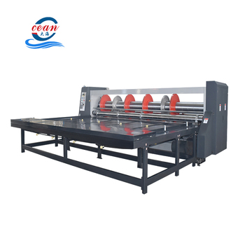 Semi automatic rotary slotter machine for corrugated carton ,creasing and slotting machine ,corrugated cardboard slotter machine