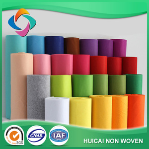 HC001- Factory hot seller colorful wholesale polyester craft felt